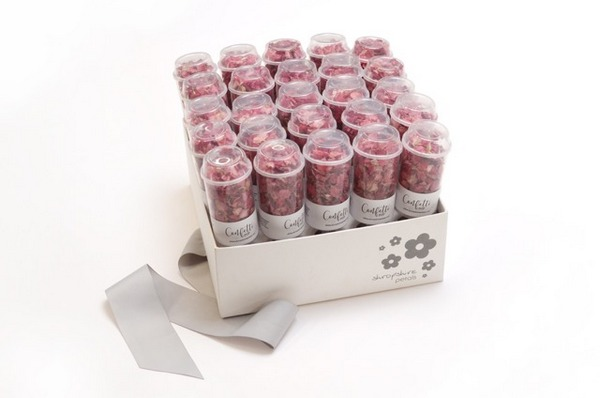 Shropshire Petals Confetti Pop Box with Raspberry Fool Confetti