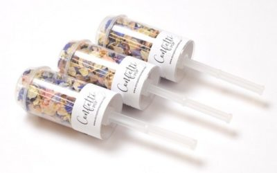New Confetti Pops and Chalkboard Signs from Shropshire Petals