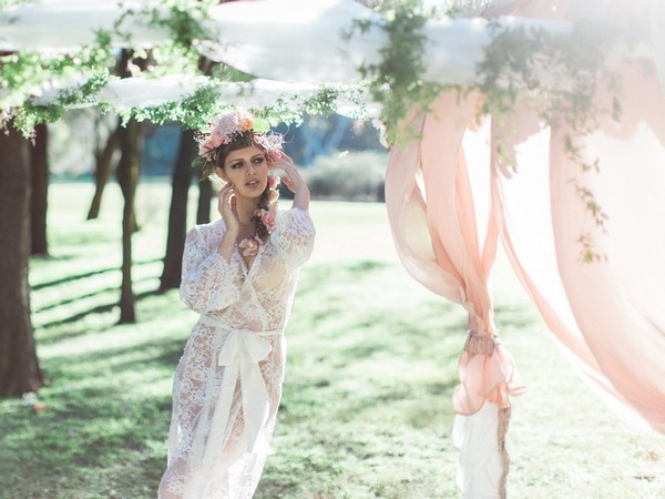 Magical Woodland Bohemian Wedding Styling