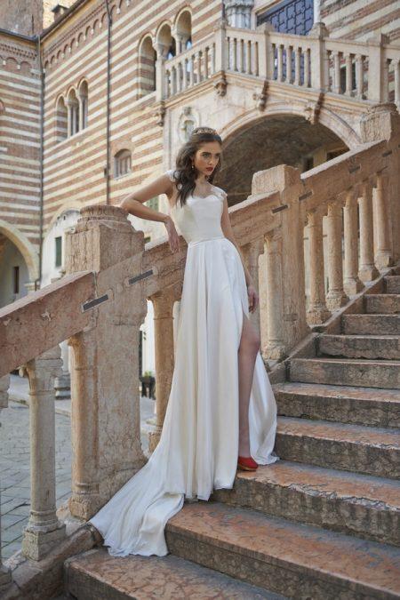 Lillianna Wedding Dress with Luisa Shrug - Stephanie Allin Bellissimo 2017 Bridal Collection
