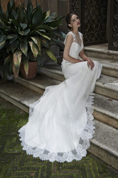 Luisa Wedding Dress with Luisa Shrug - Stephanie Allin Bellissimo 2017 Bridal Collection