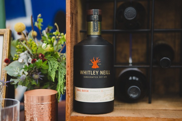 Whitley Neill gin bottle
