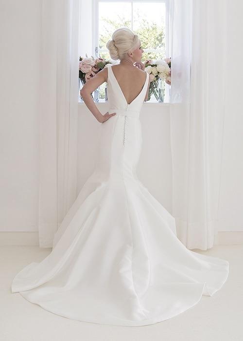 Back of Agnes Wedding Dress - House of Mooshki 2017 Bridal Collection