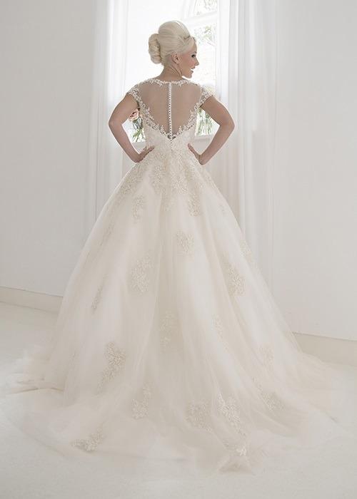 Back of Alice Wedding Dress - House of Mooshki 2017 Bridal Collection