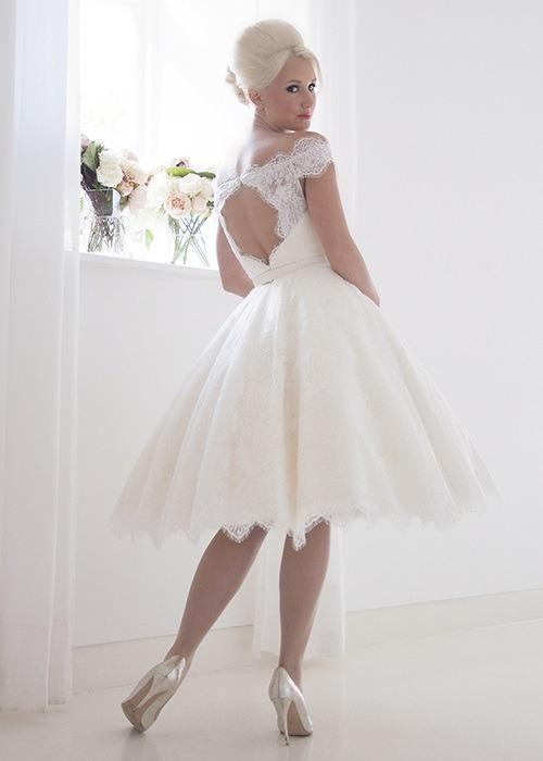 Back of Alma Wedding Dress - House of Mooshki 2017 Bridal Collection