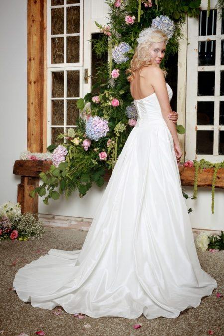 Back of Amberley Wedding Dress - Amanda Wyatt She Walks with Beauty 2017 Bridal Collection