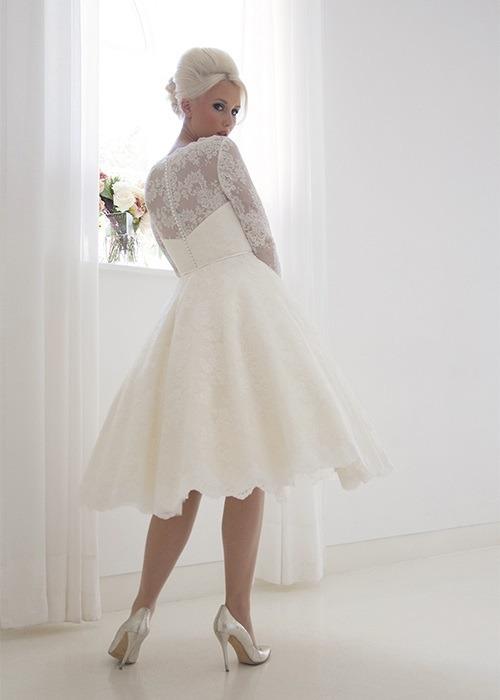 Back of Beatrice Wedding Dress - House of Mooshki 2017 Bridal Collection