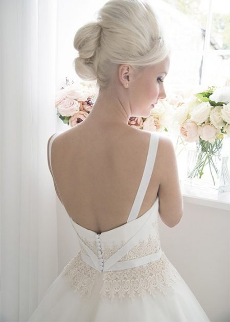 Back of Belle Wedding Dress - House of Mooshki 2017 Bridal Collection