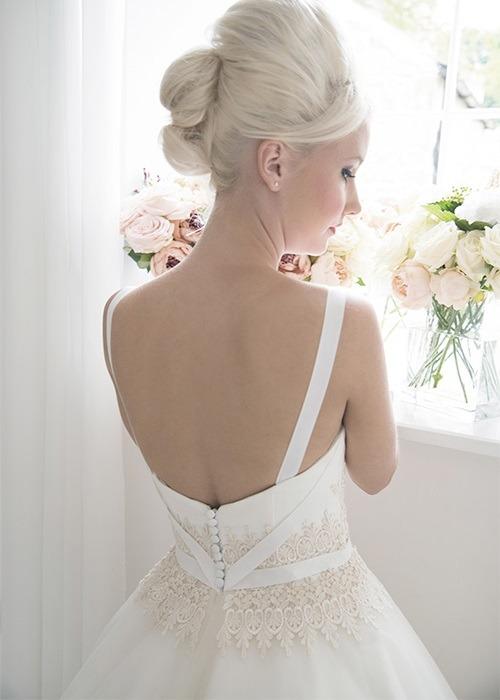 Back of Belle Wedding Dress - House of Mooshki 2017 Bridal Collection