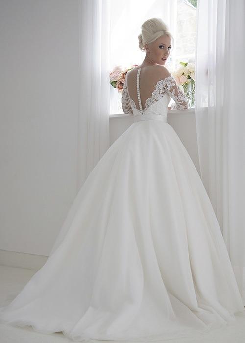 Back of Chloe Wedding Dress - House of Mooshki 2017 Bridal Collection