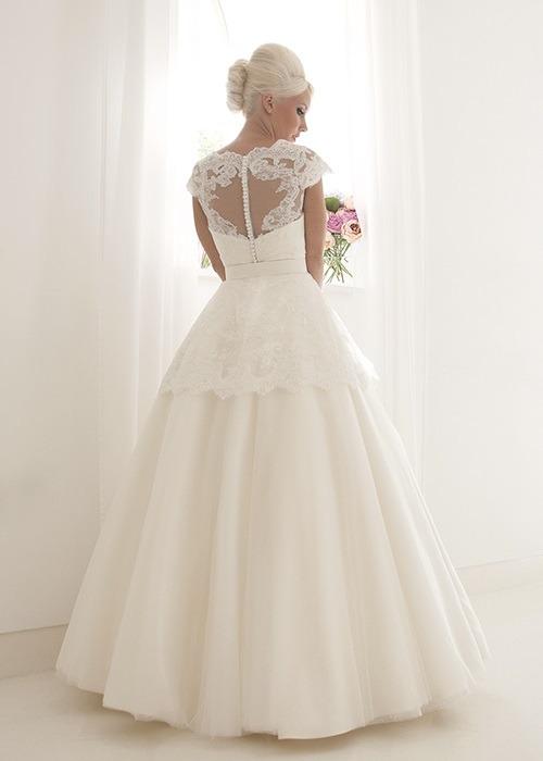 Back of Clara Wedding Dress - House of Mooshki 2017 Bridal Collection