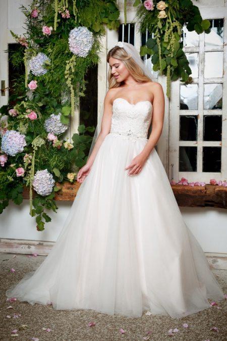 Cleo Wedding Dress in Blush - Amanda Wyatt She Walks with Beauty 2017 Bridal Collection
