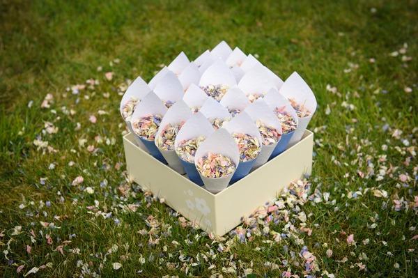 Confetti Cones - Fun Ways to Display Confetti