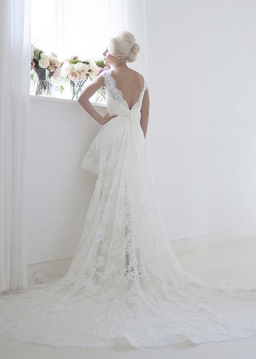 Back of Elouise Wedding Dress - House of Mooshki 2017 Bridal Collection