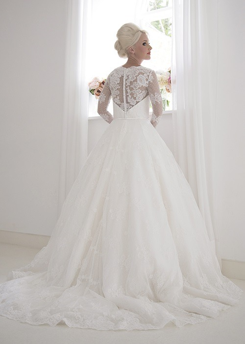Back of Isabella Wedding Dress - House of Mooshki 2017 Bridal Collection