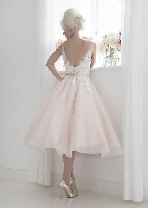 Back of Isadora Wedding Dress - House of Mooshki 2017 Bridal Collection