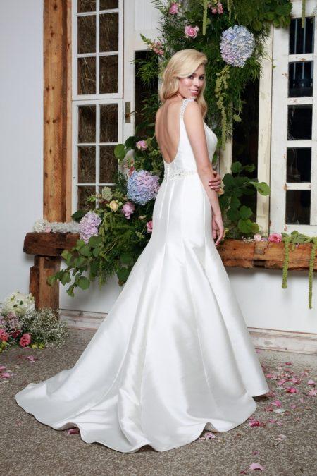 Back of Jewel Wedding Dress - Amanda Wyatt She Walks with Beauty 2017 Bridal Collection