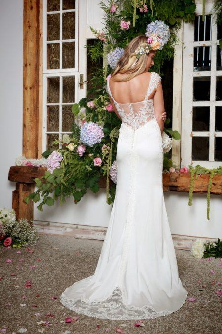 Back of Kathy Wedding Dress - Amanda Wyatt She Walks with Beauty 2017 Bridal Collection