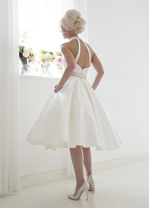 Back of Mercy Wedding Dress - House of Mooshki 2017 Bridal Collection