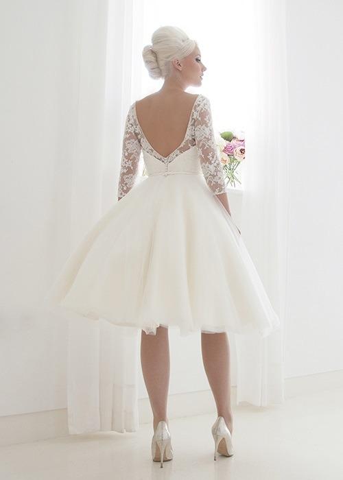 Back of Millie Wedding Dress - House of Mooshki 2017 Bridal Collection
