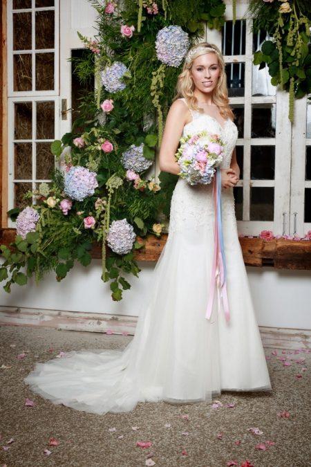 Paola Wedding Dress in Ivory - Amanda Wyatt She Walks with Beauty 2017 Bridal Collection