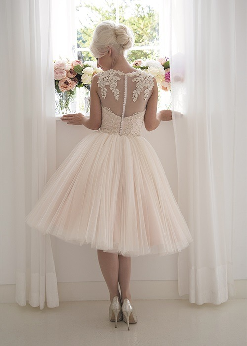 Back of Rosie Wedding Dress - House of Mooshki 2017 Bridal Collection