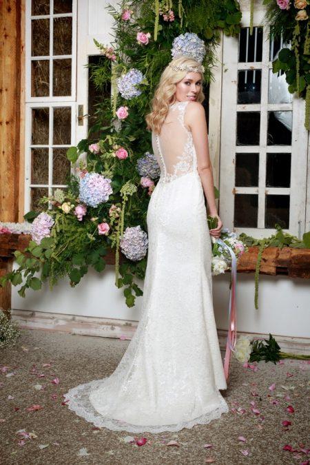 Back of Shiloh Wedding Dress - Amanda Wyatt She Walks with Beauty 2017 Bridal Collection