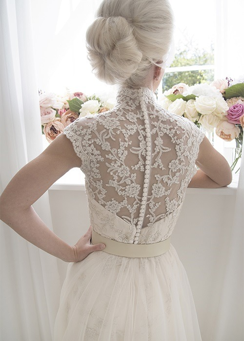 Back of Sylvia Wedding Dress - House of Mooshki 2017 Bridal Collection
