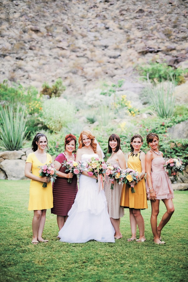 Katie Leclerc with bridesmaids