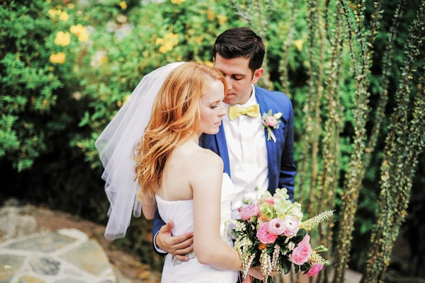 Katie Leclerc and Brian Habecost wedding picture