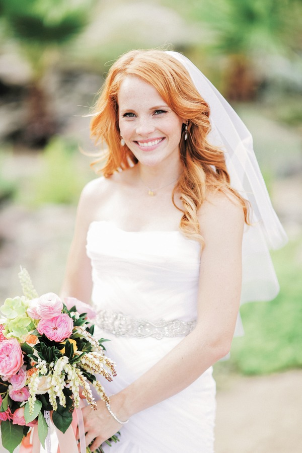 Katie Leclerc in wedding dress