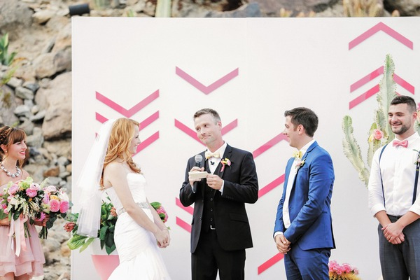Katie Leclerc and Brian Habecost wedding ceremony