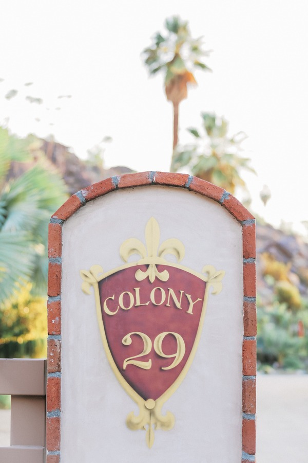 Colony 29 sign