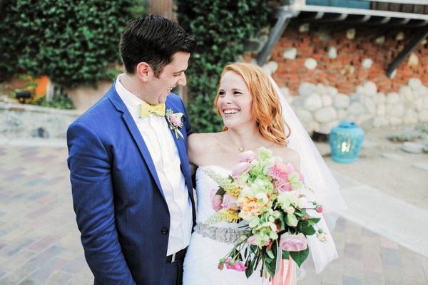 Katie Leclerc and Brian Habecost after wedding