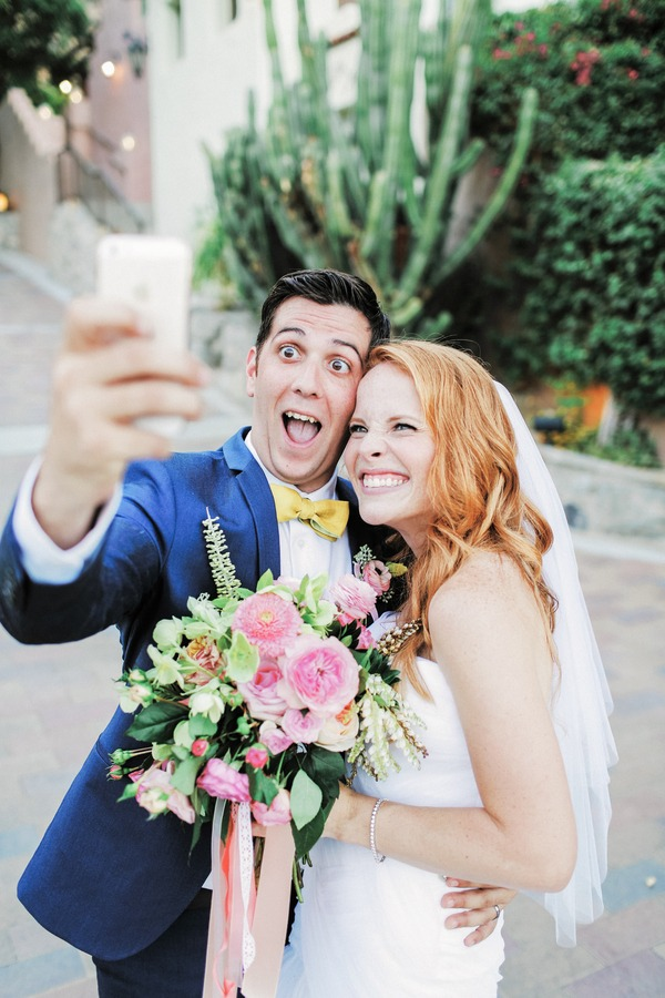 Katie Leclerc and Brian Habecost selfie