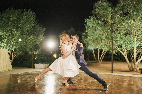 Katie Leclerc and Brian Habecost wedding dance