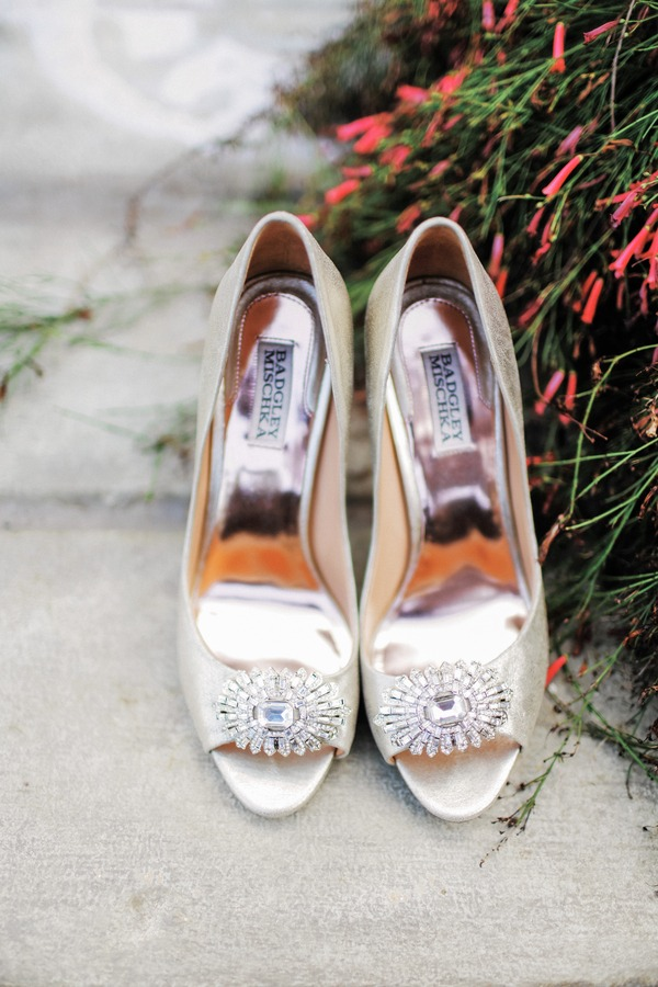 Katie Leclerc wedding shoes