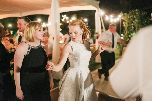 Katie Leclerc dancing at her wedding