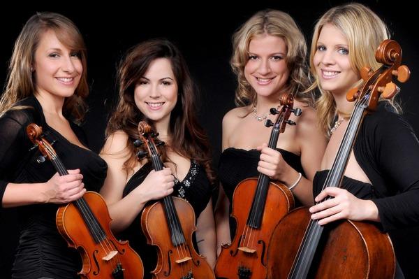 Flower Quartet - Entertainment Nation String Quartet