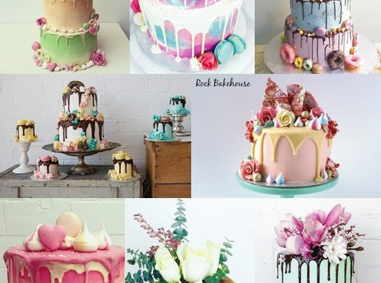 Ganache Drip Wedding Cakes Mood Board