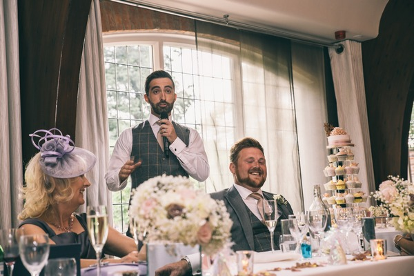 Groom wedding speech