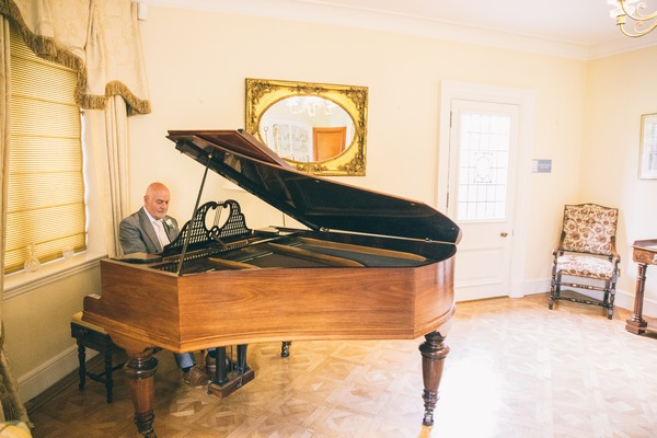 Pianist at Colshaw Hall wedding