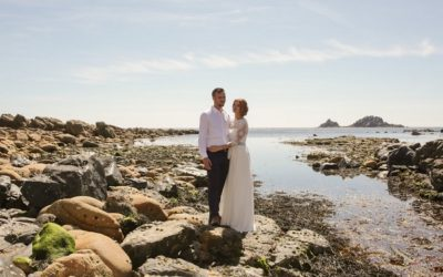 A Beautiful BoHo Cornwall Elopement