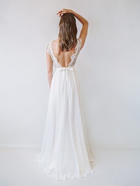 Back of Cambie Wedding Dress - Truvelle 2017 Bridal Collection