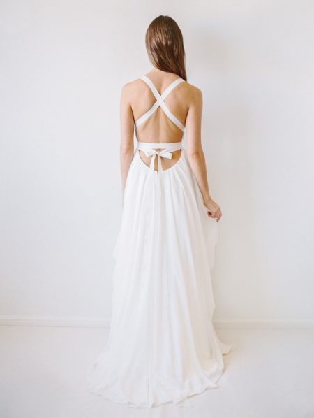 Back of Columbia Wedding Dress - Truvelle 2017 Bridal Collection
