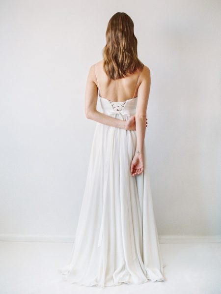 Back of Cordova Wedding Dress - Truvelle 2017 Bridal Collection