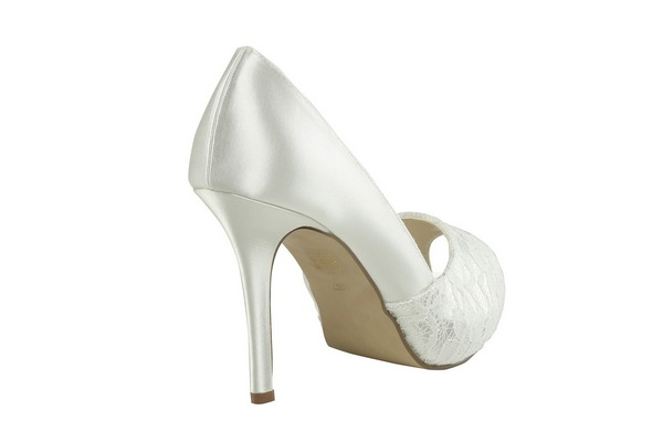 Heel of Fancy Bridal Shoes by Paradox London Pink
