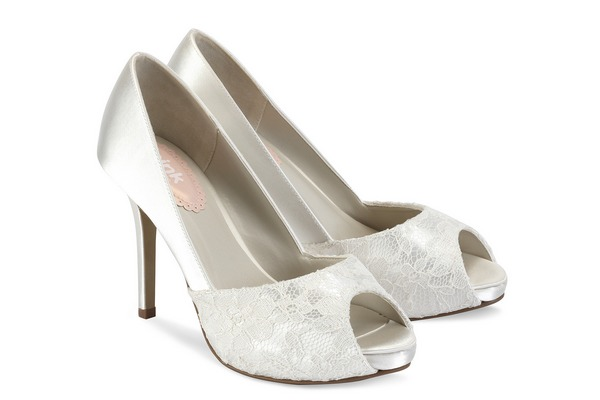Fancy Bridal Shoes by Paradox London Pink