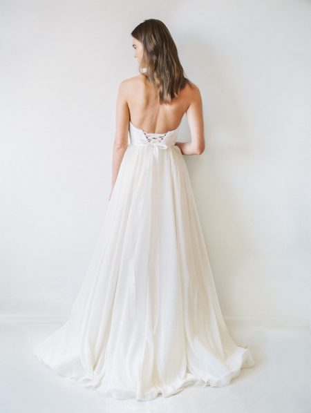 Back of Georgia Wedding Dress - Truvelle 2017 Bridal Collection