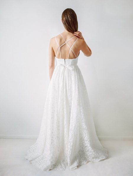 Back of Hamilton Wedding Dress - Truvelle 2017 Bridal Collection